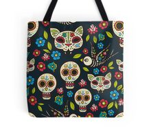 Day of the Dead, a traditional holiday in Mexico.  Tote Bag