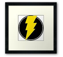 Amazing Lightning Bolt Framed Print