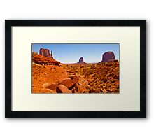 Paint The Valley Framed Print