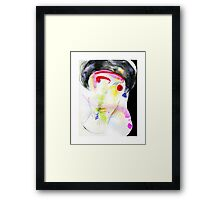 the woman who flew  Framed Print