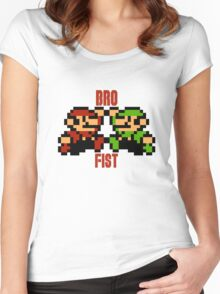 Bro Fist Women's Fitted Scoop T-Shirt