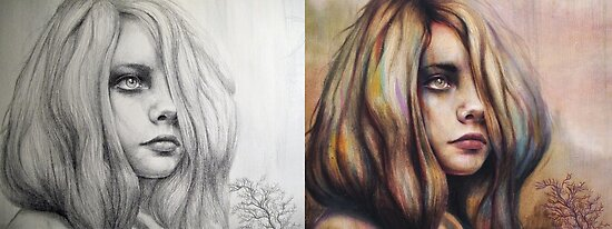 Reverie: Pencil to Paint by Michael  Shapcott