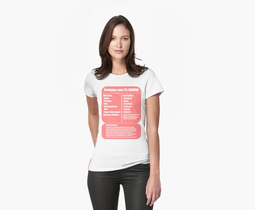 Human (pink) by Bluesly