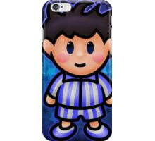 Ness in Pajamas iPhone Case/Skin