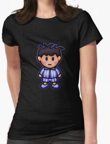 Ness in Pajamas Womens Fitted T-Shirt