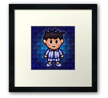 Ness in Pajamas Framed Print