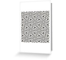 Print  tribal style.  Greeting Card