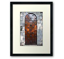 Door Number Nineteen Framed Print