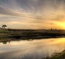 Sunset - Dog Rocks - Batesford - Victoria by Frank Moroni