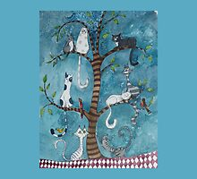 cat family tree by Judit Matthews