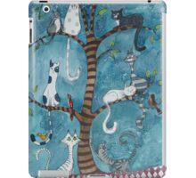 cat family tree iPad Case/Skin