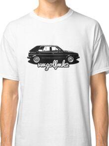 VW Golf Mk2 Appreciation Classic T-Shirt