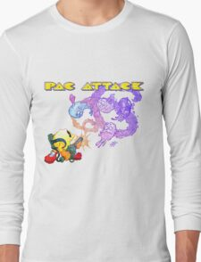 Pac Attack Weathered Long Sleeve T-Shirt