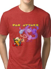 Pac Attack Weathered Tri-blend T-Shirt