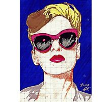 Pop Girl Photographic Print