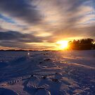 Prince Edward Island Winter Sunset in Charlottetown by Nadine Staaf