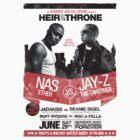 Jay-Z vs Nas - Heir to the Throne by popephoenix