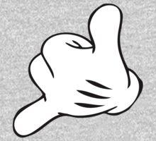 Funny Surf fingers - Shaka hand Kids Clothes
