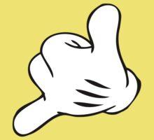 Funny Surf fingers - Shaka hand Baby Tee