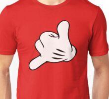 Funny Surf fingers - Shaka hand Unisex T-Shirt