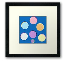 My Little Pony - Round Minimalist Framed Print