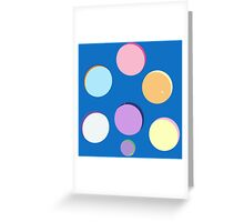 My Little Pony - Round Minimalist Greeting Card