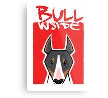 Bull inside Metal Print