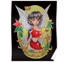 Ferngully Crysta the Fairy Heroine of the Rainforest Poster