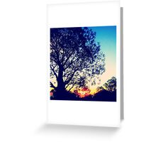 At peace with the world. Greeting Card