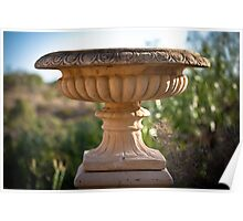 Large Bird Bath Poster