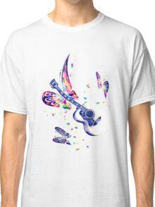 Butterfly Guitar2 Classic T-Shirt