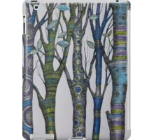 Psychedelic trees iPad Case/Skin