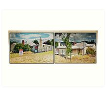 For Sale Rural Retreat, Some Renovation Needed Art Print
