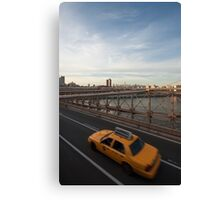 Cover - Calendar New York Canvas Print
