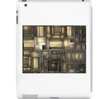 Mechanical Fractal iPad Case/Skin