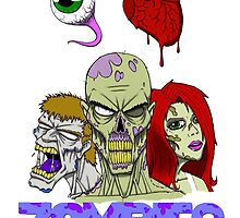 I Love zombies by darkartz