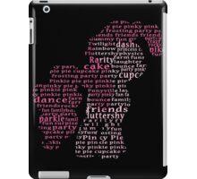 My Little Pony - Pinkie Pie Typography iPad Case/Skin