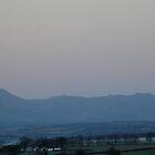 Moon over Ben Ledi by Bob Leckridge