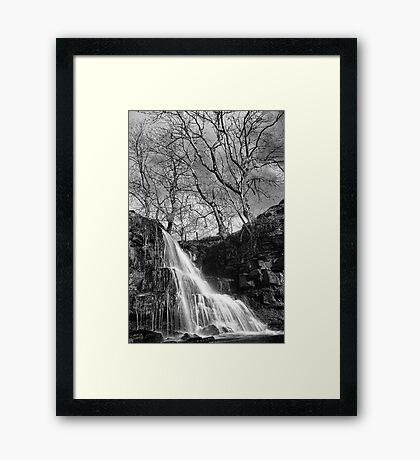 East Gill Force 01 - Nr Keld, Yorkshire Dales Framed Print