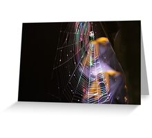 Webbed Disco Greeting Card