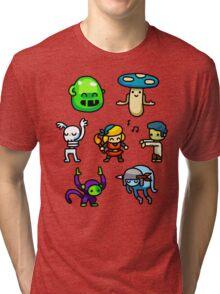 Crypt Dance Party Tri-blend T-Shirt