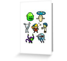 Crypt Dance Party Greeting Card