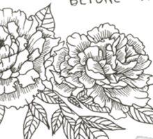 The Cheap Bouquet  Sticker