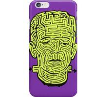 Frankenstein Halloween Maze iPhone Case/Skin