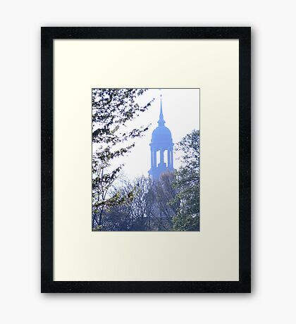 Hamburg Michel Framed Print