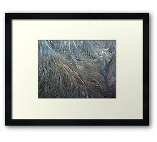 Frosty Windscreen Framed Print
