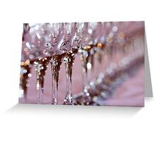Glass soldiers Greeting Card