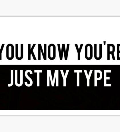 My Type Sticker