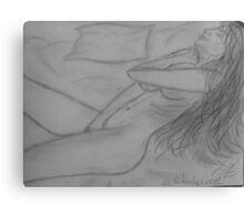 woman Pleasure Canvas Print