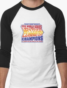 Chicago Cubs World Series Champions - Back to the Future  Men's Baseball ¾ T-Shirt